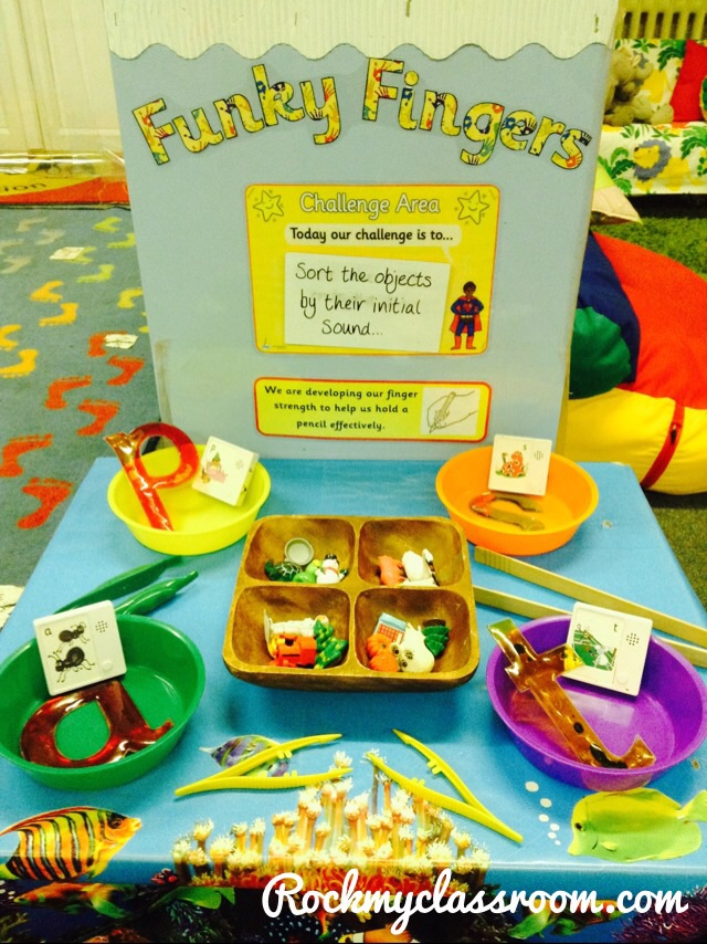 Classroom Ideas Early Years ~ Funky fingers rock my classroom